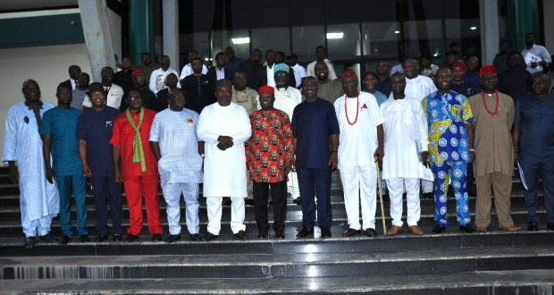 South-East governors, Igbo leaders meet in Enugu, task FG on deplorable roads, Enugu airport