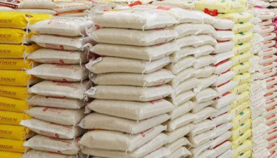 Customs seizes over 10,000 bags of rice, used tyres, cannabis