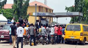 Travellers, motorists stranded as petrol sells for N400 per litre