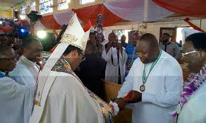Archbishop Chukwuma hails Gov. Ugwuanyi on realistic 2018 budget proposal