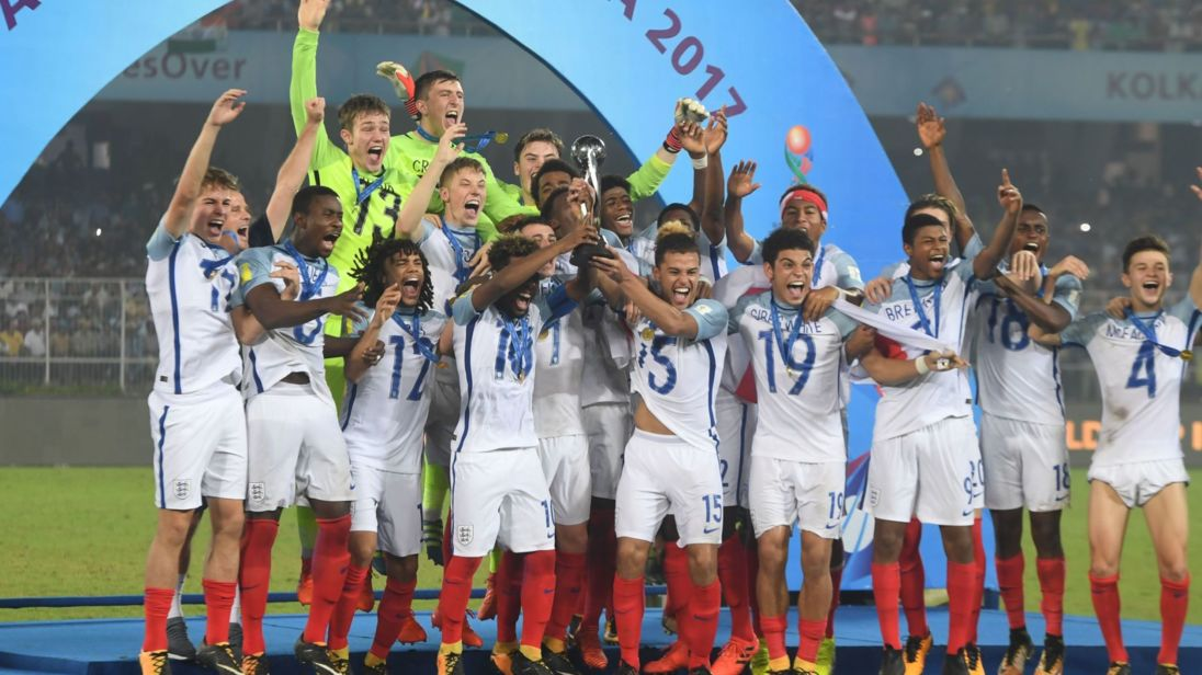 England beat Spain to win U17 World Cup final