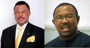 Willie Obiano and Peter Obi